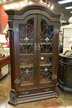 Tuscan Furniture Old World And Wrought Iron Doors On Pinterest