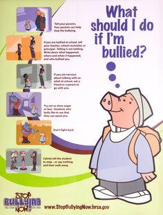 What should I do if I'm bullied?