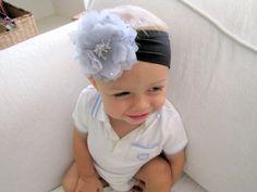 Baby Headband with Flower Clip TUTORIAL