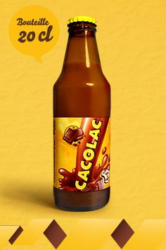 Cacolac - Classique  Bouteille de 20cl disponible en pack 6