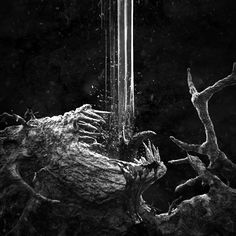 Drowning, Daniel Paz on ArtStation at https://www.artstation.com/artwork/5qemE