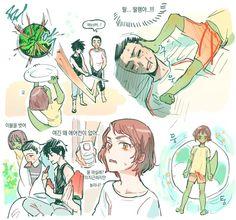 Manhwa, Butterflies In My Stomach, Ship Art, Fire Emblem, Aesthetic Art, Webtoon, Anime Art, Character Design, Fan Art