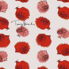 Tory Burch hedgehog print