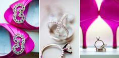 pink wedding details :)