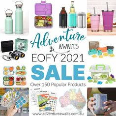 It's SALE time!! Magic Sand, Smoothie Cup, Christmas Games, Adventure Awaits, Treat Yourself, Love Is All, Shop, Gifts, Presents