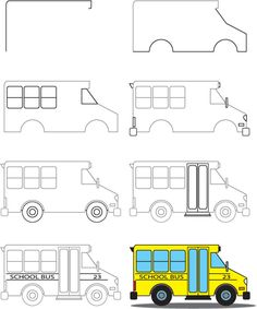 how-to-draw-a-school-bus
