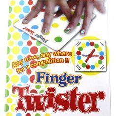 Gra zręcznościowa Twister dla palców, palcowy gra, Twister finger, imprezowa gra