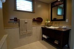 beach bathroom towel holder - oar