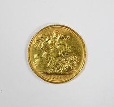 An Elizabeth II gold sovereign, 1959
