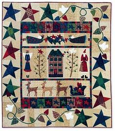 ~ Waiting for Santa ~ 56 x 66....by Lynette Anderson....