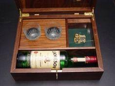 Musical Irish Whiskey Box