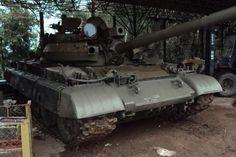 Big, Bad And Original: T-55 Soviet Tank - http://barnfinds.com/big-bad-and-original-t-55-soviet-tank/