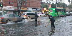 #DESTACADAS:  Caos por fuga de agua potable en avenida Universidad de CDMX - Quadratín Querétaro