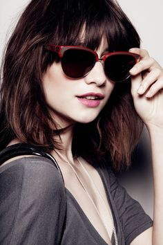TOUCH this image: Baxter Sunglasses by Rebecca Minkoff