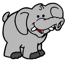 dibujo elefante con dientes - Cerca amb Google