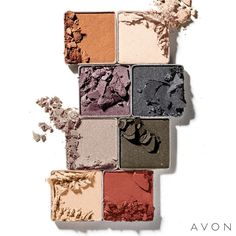 Glam up with our NEW True Color 8-in-1 Eyeshadow Palette in Smoky Nights! This palette features 8 vivid shades that can take you from day to night in a flash. ✨😍 www.youravon.com/tbeasley #Avon #AvonRep #AvonMakeup #BeautyBoss #BossLife #ILoveAvon #AvonScents #Beauty #BeautyforaPurpose #Budget #SavingMoney