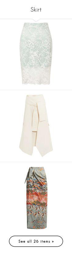"""Skirt"" by kikekiko ❤ liked on Polyvore featuring skirts, bottoms, saias, mint green, petite, petite skirts, white pencil skirt, pencil skirt, knee length pencil skirt and petite pencil skirt"