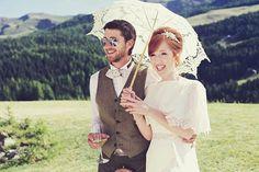 Parasols and Pretty Things ~ An Enzoani Wedding Dress for a Charming Italian Wedding | Love My Dress® UK Wedding Blog