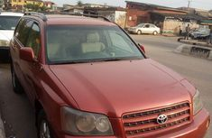 Toyota Highlander For Sale In Nigeria In 2020 Toyota Highlander For Sale Toyota Highlander Used Toyota