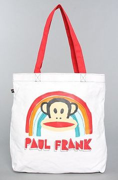 Gotta see this awesome Paul Frank The Paul Frank Rainbow Brand Tote,Bags (Handbags/Totes) for Females
