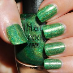 Nail Nation 3000 Grinch in a Blender (Holo Grail Box by Dazzled - December 2014 - The Grinch Who Stole Christmas)