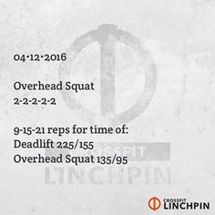 CrossFit Linchpin @crossfitlinchpin on Instagram photo 04/11/2016 18:00 Best Crossfit Workouts, Crossfit At Home, Workout Plans, Workout Gear, Instagram Hastags, Bodybuilding Routines, Ultimate Workout, Sleep Problems, Hiit