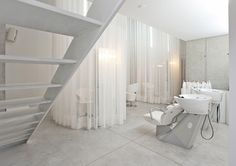 Modern Minimalist Salon and Spa Design