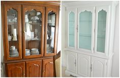 It's A Mom's World: Dining Room Hutch Makeover Reveal