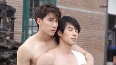 Together With Me Bad Romance, Muscle Boy, Men Kissing, Turning Japanese, Love Scenes, Cute Gay Couples, Thai Drama, Best Couple, Asian Boys