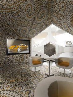 Automotive Showroom and Leisure Centre by Manuelle Gautrand Architecture - Dezeen