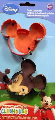 Mickey Mouse Shaped Cookie Cutter Set by Wilton