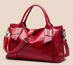 Women Genuine Leather Bag Fashion Handbags Casual Shoulder Bag Vintage Tote Bags Bolsas Femininas