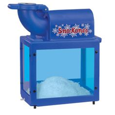 Sno-King Sno-Kone(R) Machine, 500 lbs. per hour capacity, adjustable blades