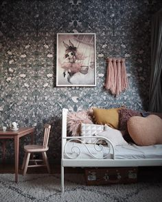 Dark and dreamy wall