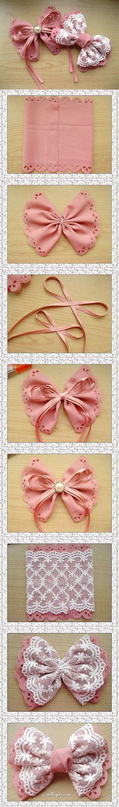 lace bow diy crafts easy crafts easy diy craft bows diy bows
