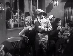 Unidentified actress (as Marge), unidentified actor (as Tim) | Dangerous Passage (1944)
