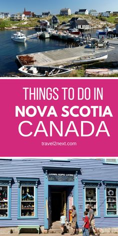 8 things to do in Nova Scotia Canada, from the Titanic museum to food and wine. There's golf and other fun stuff too. Nova Scotia Travel, Pei Canada, Canada Destinations, East Coast Travel, Canadian Travel, Atlantic Canada, Newfoundland And Labrador, Prince Edward Island, New Brunswick