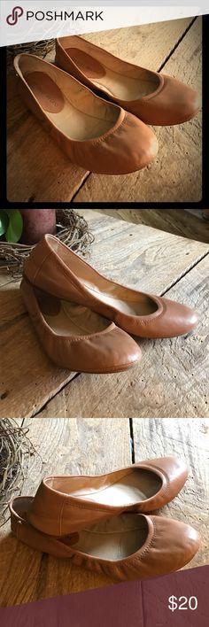 Selling this Antonio Melani leather upper slip-on flats sz 7.5 on Poshmark! My username is: natisll. #shopmycloset #poshmark #fashion #shopping #style #forsale #ANTONIO MELANI #Shoes