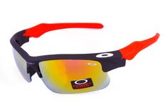 Oakley Fast Jacket Semi-Rimless Red CSC