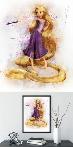 - Best of Wallpapers for Andriod and ios Disney Princess Rapunzel, Disney Tangled, Disney Art, Rapunzel Room, Disney Princesses, Nursery Wall Decor, Baby Room Decor, Nursery Prints, Girl Nursery