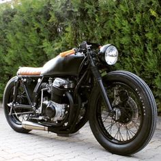Honda CB750 brat cafe                                                                                                                                                      More