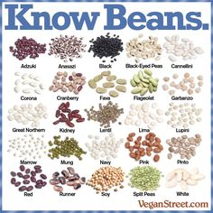 Natural plant-based diet: beans beans beans beans are also good for fighting middle aged belly fat around the waistline because it fights visceral fat which happens with aging Plant Based Protein, Plant Based Diet, Types Of Beans, Dried Beans, Beans Beans, Vegan Nutrition, Vegan Burgers, Dehydrated Food, Vegan Foods