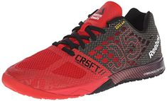 Reebok Mens R Crossfit Nano 50 Training Shoe Red RushBlackWhite 11 M US >>> Be sure to check out this awesome product.