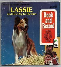 Vintage 1977 Lassie And Her Day In The Sun Janet Gari Paperback Childrens Book