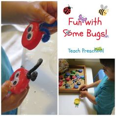 Fun with some bugs by Teach Preschool