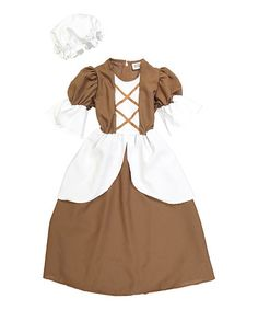 This Colonial Dress-Up Set - Girls is perfect! #zulilyfinds