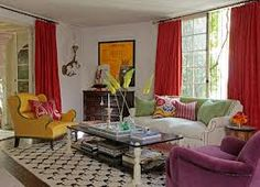 colourful curtains - Google Search