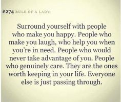 The people in your life...