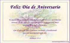 Tarjetas cristianas para felicitar el aniversario de bodas | Trato ...