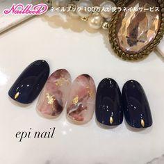 Nails are among the most beautiful Luv Nails, Pretty Nails, Shellac Nails, Nail Manicure, Quartz Nail, Japanese Nail Art, Fabulous Nails, Creative Nails, Nail Arts